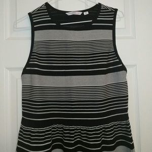 Isaac Mizrahi striped dress